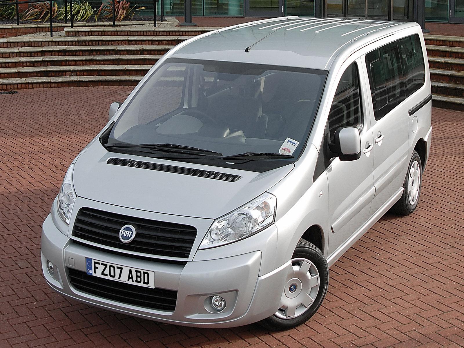 Fiat (Фиат) Scudo 2006-2012 г.
