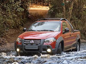Fiat Strada 2 дв. пикап Strada