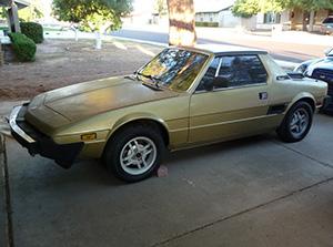 Fiat X1/9 2 дв. купе X 1/9