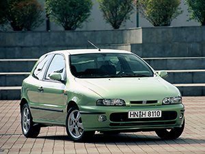 Технические характеристики Fiat Bravo 1.9 Tds 1995-1998 г.