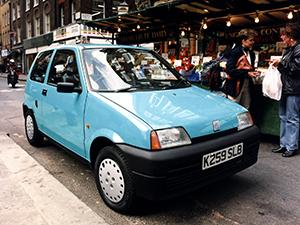 Технические характеристики Fiat Cinquecento Fiat Cinquecento 1992-1998 г.