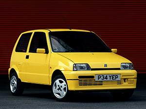 Технические характеристики Fiat Cinquecento