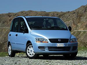 Технические характеристики Fiat Multipla