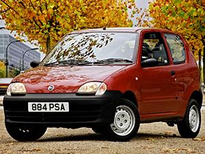Технические характеристики Fiat Siecento