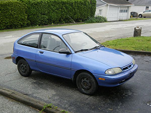 Ford Aspire 3 дв. хэтчбек Aspire