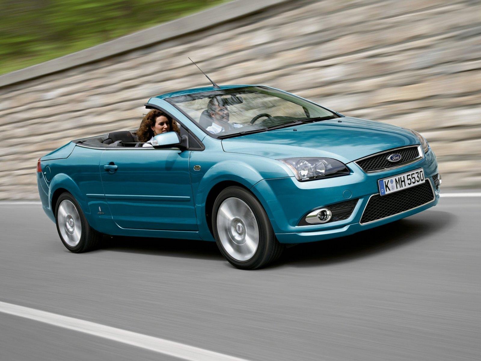 Ford Focus Coupe-Cabriolet фотогалерея: 21 фото высокого ...