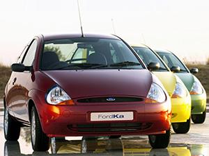 Ford Ka 3 дв. хэтчбек Ka
