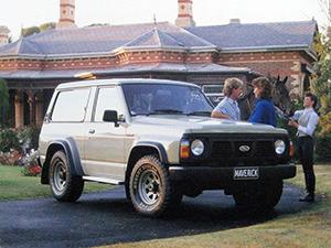 Ford Maverick 3 дв. внедорожник Maverick SWB