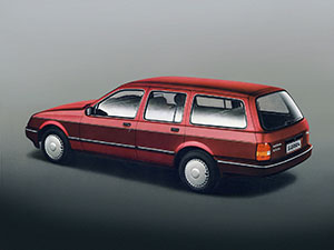 Ford Sierra 5 дв. универсал Sierra Stationwagon