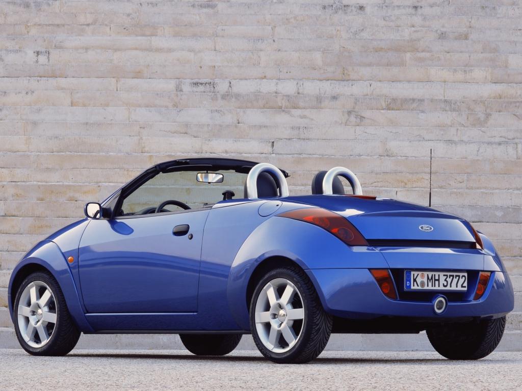 Ford (Форд) Ka Streetka 2003-2006 г.
