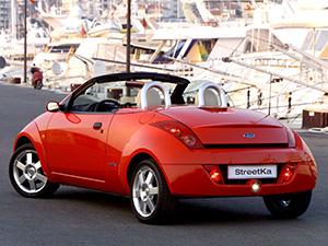Ford Ka 2 дв. кабриолеты Streetka