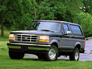 Технические характеристики Ford Bronco