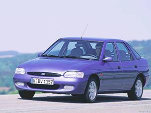 Технические характеристики Ford Escort