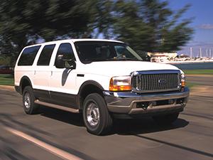 Технические характеристики Ford Excursion 6.8 4WD 1999-2005 г.