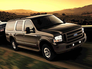 Технические характеристики Ford Excursion