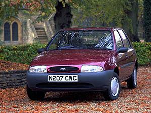 Технические характеристики Ford Fiesta 1.3i 1994-1995 г.