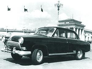 ГАЗ 21 4 дв. седан (2 серия)
