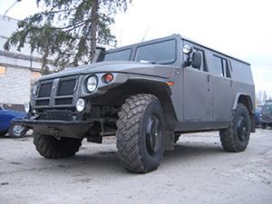ГАЗ Тигр 4 дв. внедорожник 2330 Тигр