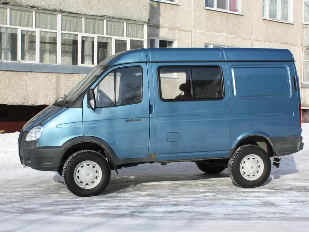 ГАЗ Соболь 4 дв. грузопассажирский 2752 Соболь