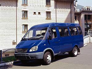 ГАЗ Газель 4 дв. микроавтобус 3221