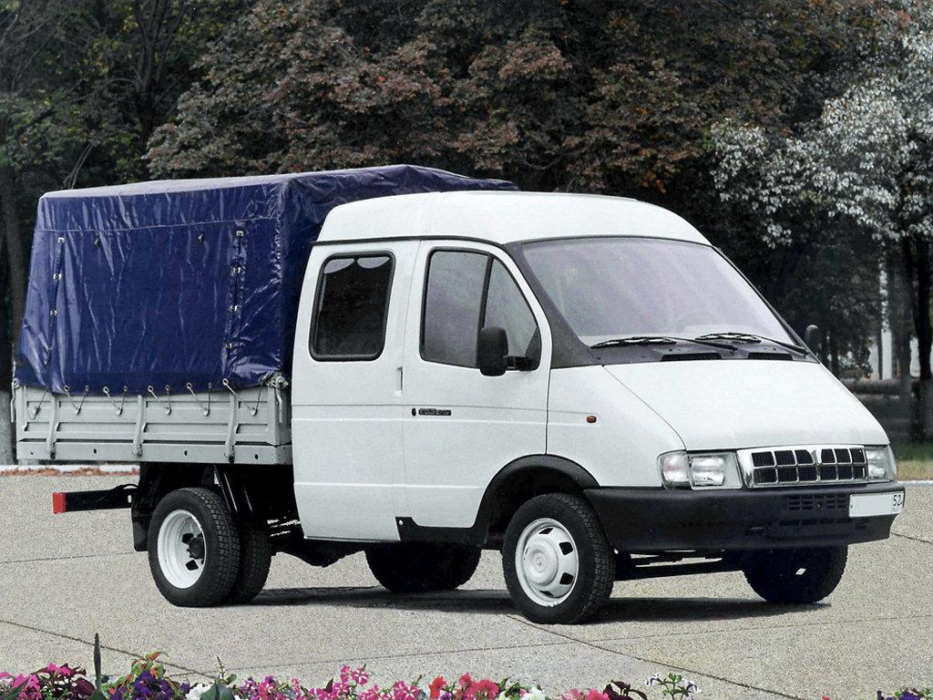 ГАЗ (GAZ) Газель 3302 1994-2003 г.