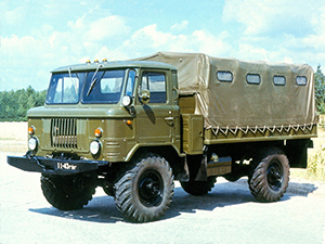 ГАЗ 66 борт-тент 66