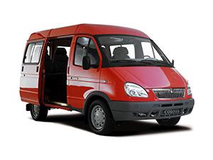Технические характеристики ГАЗ Соболь 2.4 2003- г.