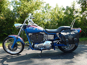 Harley-Davidson Dyna Wide Glide кастом 1340 Dyna Wide Glide