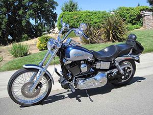 Harley-Davidson Dyna Wide Glide кастом FXDWG Dyna Wide Glide