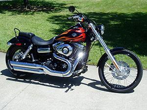 Harley-Davidson Dyna Wide Glide чоппер FXDWG Dyna Wide Glide