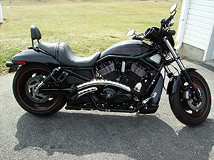 Harley-Davidson VRSCD чоппер VRSCD Night-Rod
