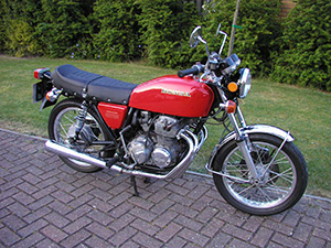 Honda CB туристический 400 A