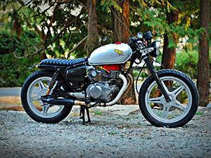 Honda CB туристический 400 T Hondamatic