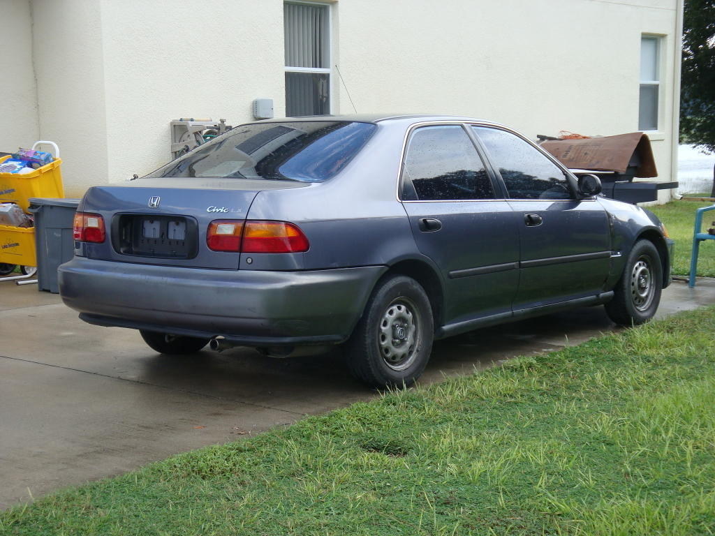 Хонда цивик 1995 фото