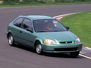 Технические характеристики Honda Civic 1.5i VTEC-E 1995-2001 г.