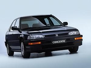 Технические характеристики Honda Concerto