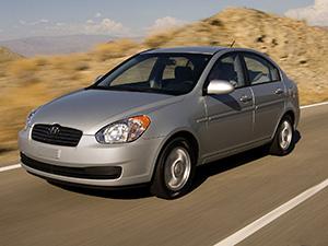 Hyundai Accent 4 дв. седан Accent (MC)
