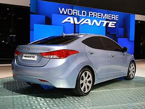 Hyundai Avante 4 дв. седан Avante
