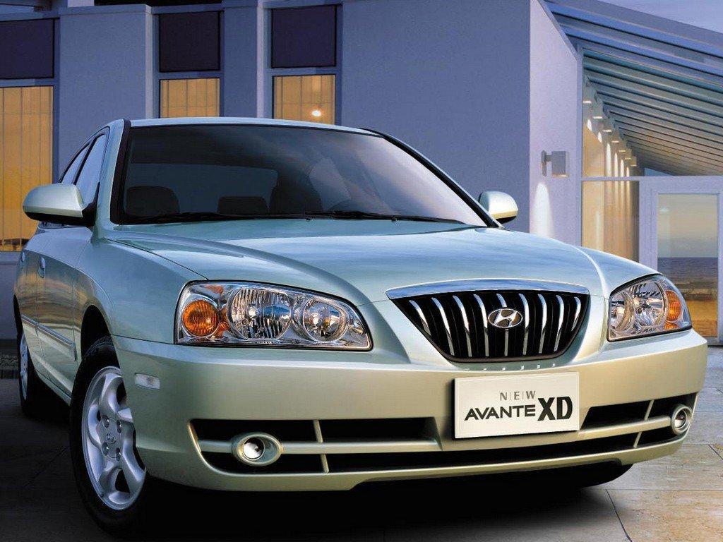 Hyundai (Хендай) Avante 2003-2006 г.