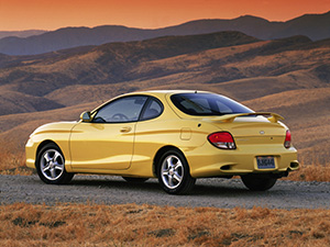 Hyundai Coupe 3 дв. купе Coupe (RD2)