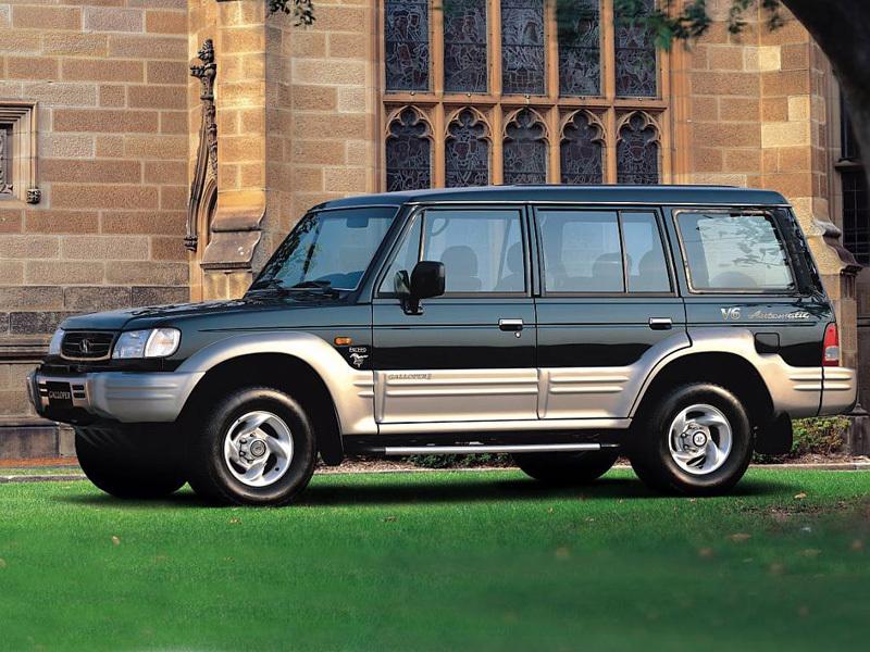 Hyundai (Хендай) Galloper 1998-2002 г.