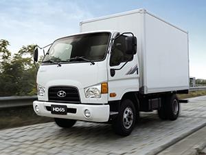 Hyundai HD 2 дв. шасси 65