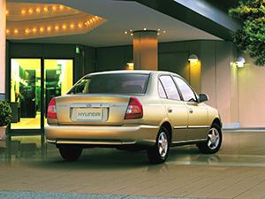 Hyundai Accent 4 дв. седан Accent (LC)