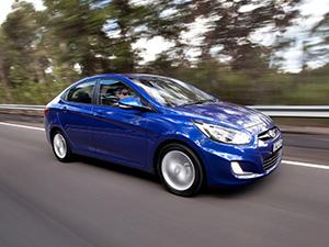 Hyundai Accent 4 дв. седан Accent (RB)
