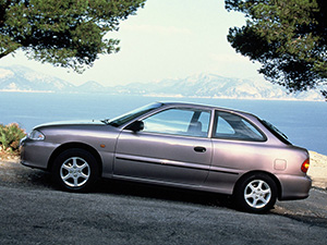 Hyundai Accent 3 дв. хэтчбек Accent (X3)