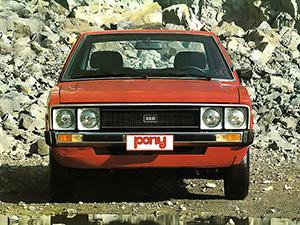 Hyundai Pony 4 дв. хэтчбек Pony