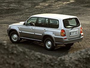Hyundai Terracan 5 дв. внедорожник Terracan