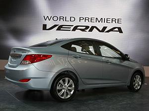 Hyundai Verna 4 дв. седан Verna