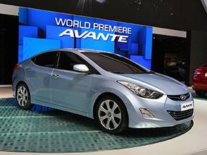 Технические характеристики Hyundai Avante