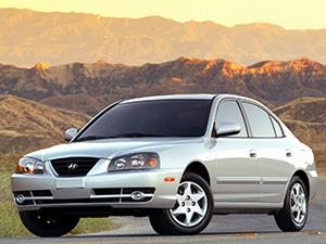 Технические характеристики Hyundai Elantra 1.6i 2003-2006 г.